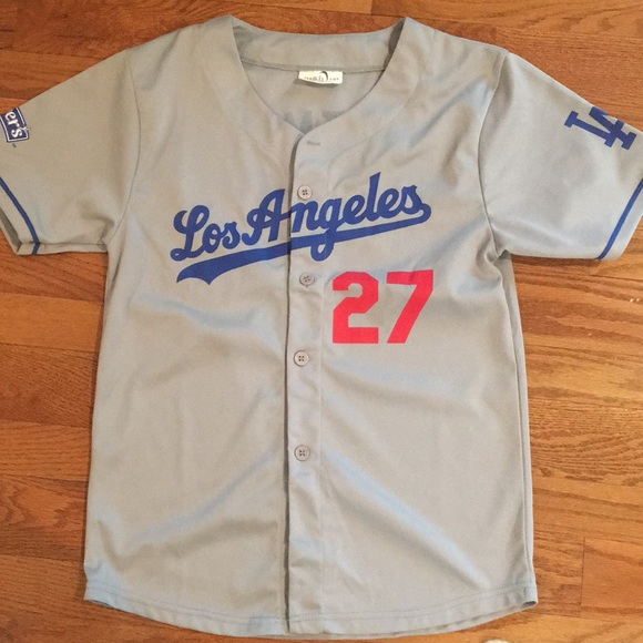 promo code 661d4 62022 Los Angeles Dodgers Jersey Youth baseball⚾️